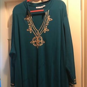 Other - Only Necessities Plus Size Robe Teal